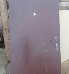 Дверь металлическая 93*204