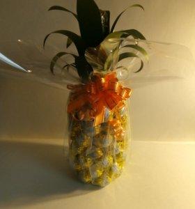 Подарок ручной работы, ананас!