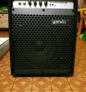 Комбоусилитель для бас гитары Warwick W BC 40
