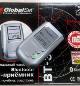 GPS-приемник Globalsat BT-338 bluetooth