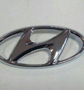 "Значок ""Hyundai"" на Solaris (оригинал)"