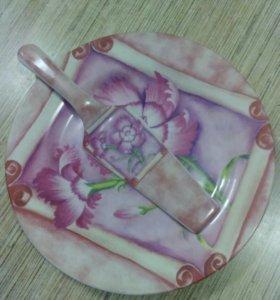 Тарелка для 🎂