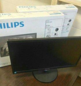 """Мониторы Philips """"22 в наличии, новые!"""