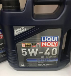 Масло моторное LIQUI MOLY Optimal Synth 5W40 4L