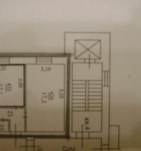 Комната, 29.3 м²