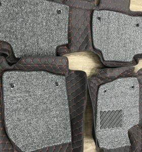 Ковры 3D в салон rav-4