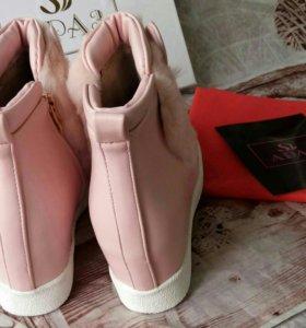 Ботиночки зайки