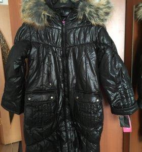 Куртка зимняя новая на девочку