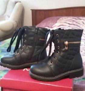 Ботинки зимние дя девочки