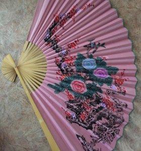Японский веер на стену