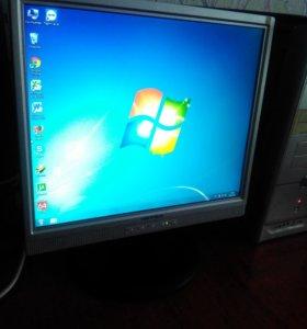 Компьютер для дома и офиса: системник + монитор
