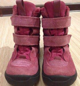 Зимние ботинки Ecco р-р 24