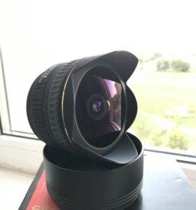 Sigma AF 15mm f/2.8 EX DG fisheye (для Sony)