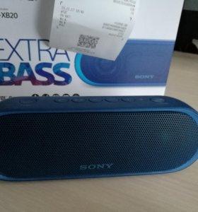 Sony EXTRA BASS srs-xb20 Новая 2г гарантия