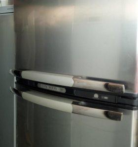 Широкий Холодильник Вирпул 185/70 no frost