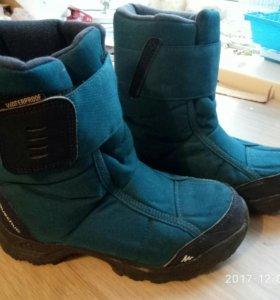Ботинки зимние для мальчика 34 р