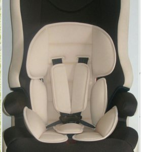 Новое Детское автокресло, цвет беж,  с 09 до 36 кг