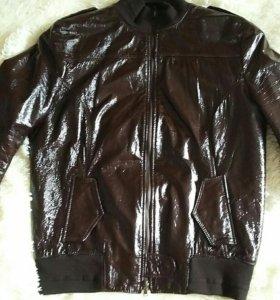 Куртка кожаная (италия)48 р