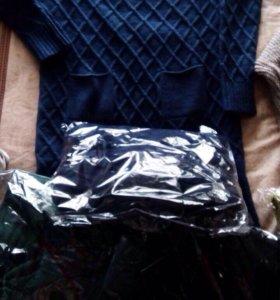 Платье вязаные