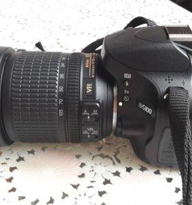 Зеркальный фотоаппарат Nikon D5100 + 18-105 VR