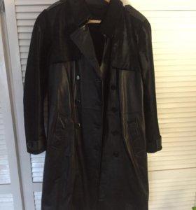 Пальто, плащ кожаный Новый Снежная королева