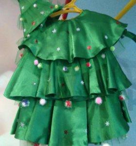 Новогодний костюм ёлочки