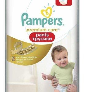 Трусики-подгузники Pampers Premium Care 4 44 шт.