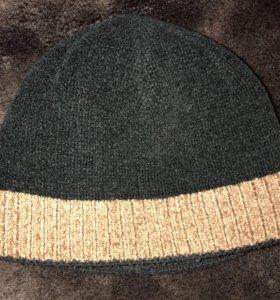 Мужская двойная зимняя шапка
