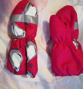 Варежки-перчатки(краги)