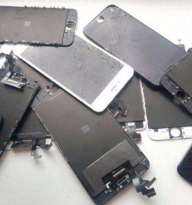 Дисплеи с установкой Iphone 5,5c,5s,SE
