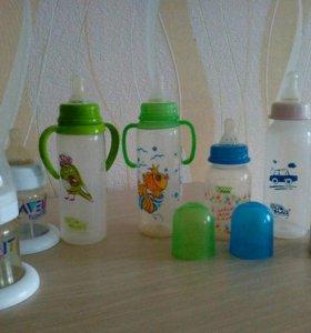 Бутылки детские б.у.
