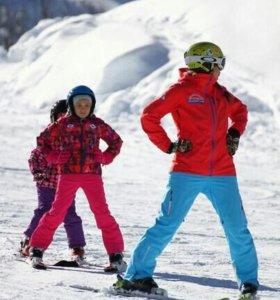 Инструкторы горные лыжи сноуборд