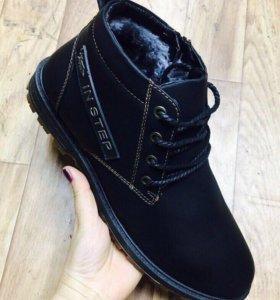 Ботинки. Новые. Зима