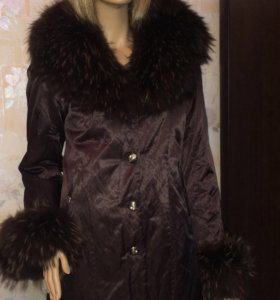 Пальто на зиму 44р новое
