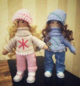 Интерьерные куклы ручной работы +подарочный пакет