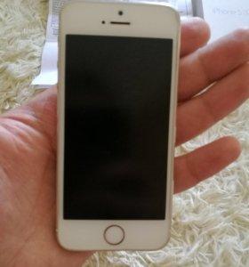 Продам iPhone 5 s gold