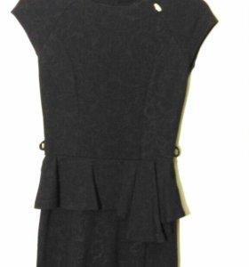 Платье с баской Mohito