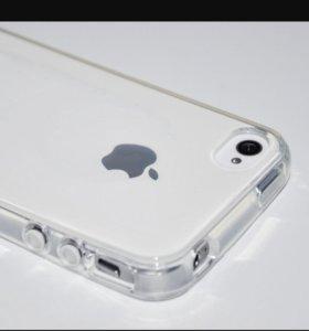 Силиконовые чехлы для IPhone 4, 4s