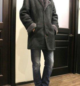 Дубленка зимняя мужская