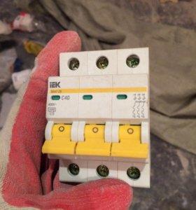Выключатель автоматический с40