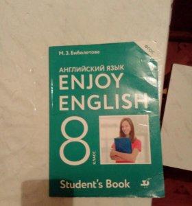 Учебник по английскому enjoy english 8 класс