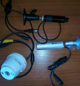 Видеокамеры цилиндровые, скрытые