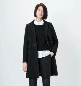 Шикарное новое шерстяное пальто! Размера 50