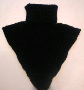 Манишка вязанная