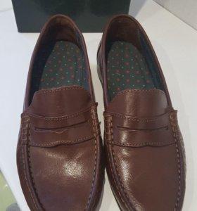 Мужские кож. ботинки р.41 новые
