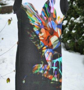 Трикотажное платье р.50