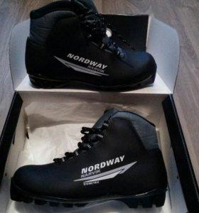 Ботинки лыжные nordway 40 размер