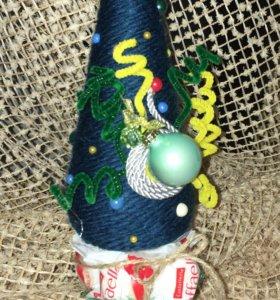 Топиарий - новогодняя ёлка 2