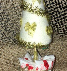 Топиарий - новогодняя ёлка 14