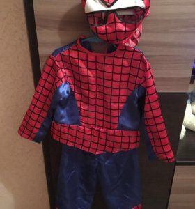 Новогодний костюм « человек-паук»